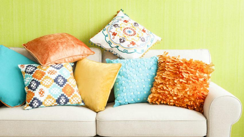 Cuscini colorati design e colore nella vostra casa - Cuscini giganti ikea ...