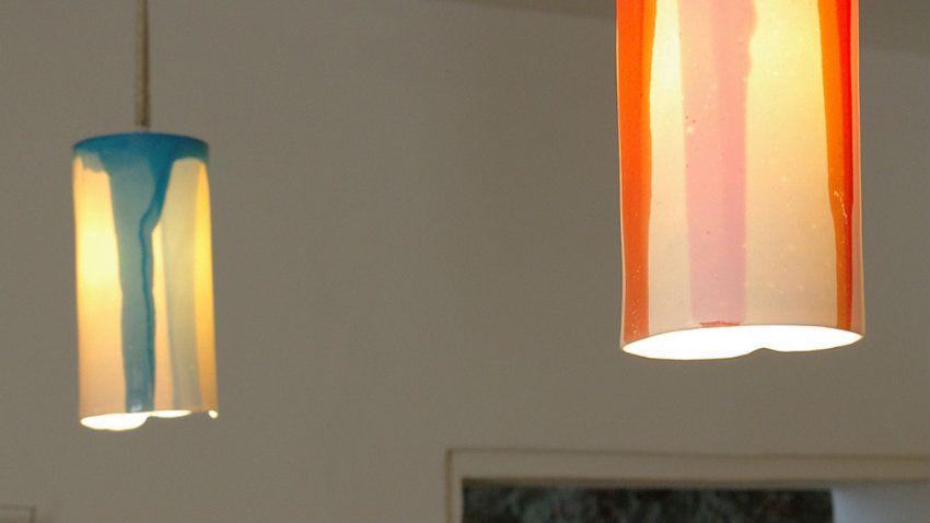 Plafoniere In Vetro Per Lampadari : Lampadario arancione per atmosfere glamour dalani e ora westwing