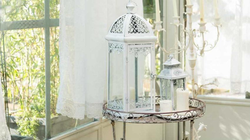 Lanterne in ferro battuto eleganti e romantiche dalani for Decorazioni in ferro battuto