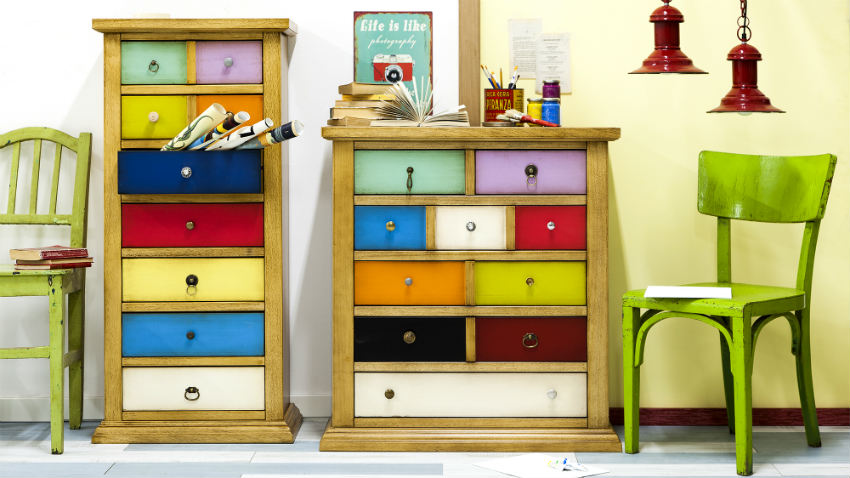 Mobili colorati: nuance fluo e tinte pastello - Dalani e ora Westwing