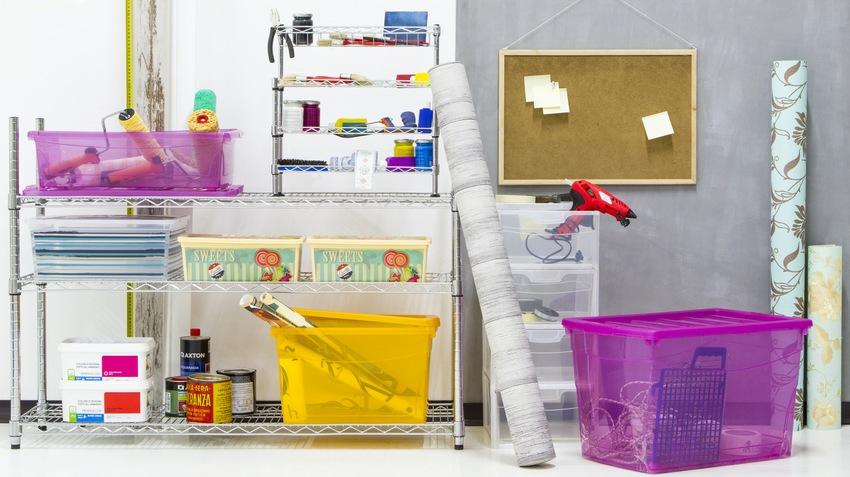 Scatole di plastica ordine e colore dalani e ora westwing - Scatole portaoggetti ...