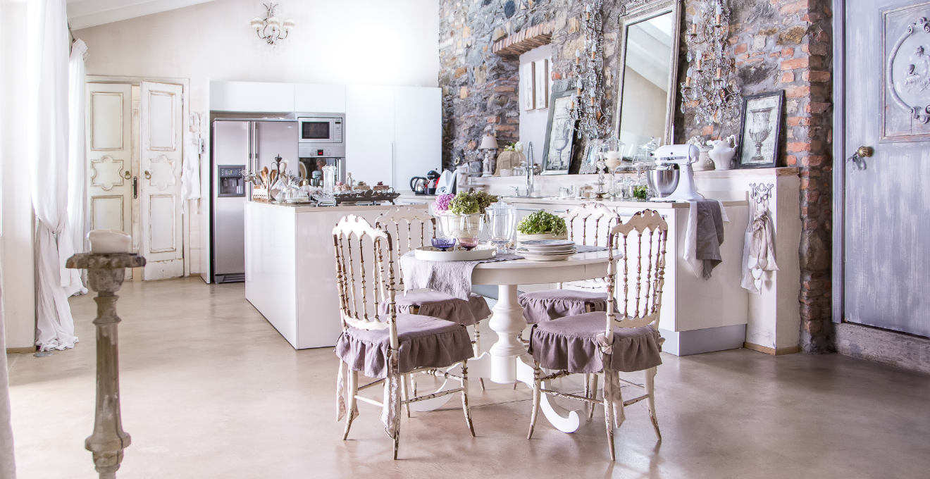 WESTWING | Tovaglie shabby chic: romantica poesia in cucina