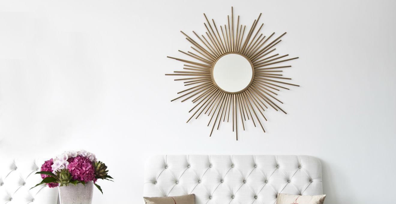 Specchi rotondi riflessi dalla forma perfetta dalani e ora westwing - Specchi rotondi da parete ...