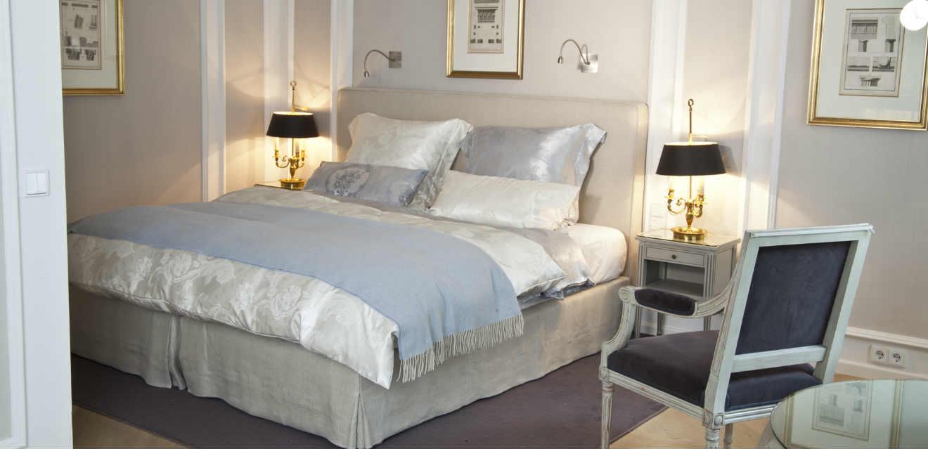 Camera da letto di lusso eleganza per la zona notte westwing dalani e ora westwing - Biancheria di lusso per la casa ...