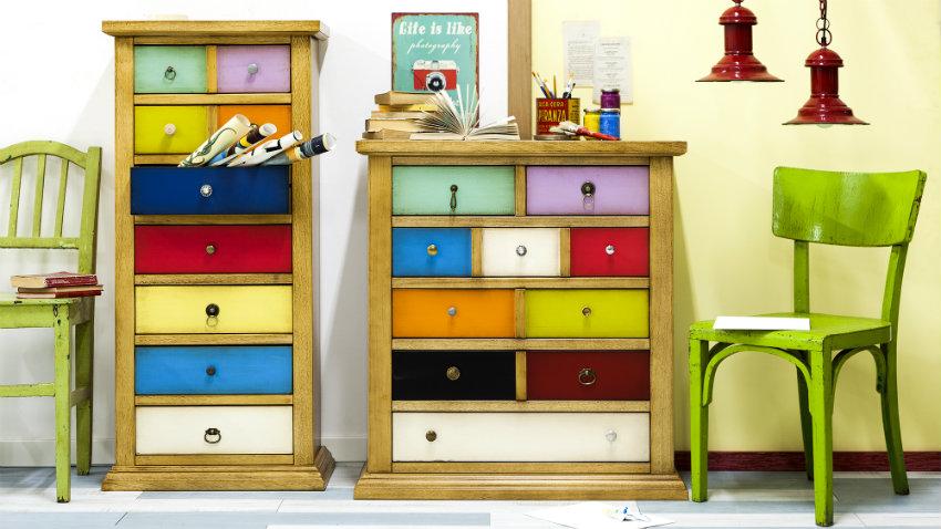 Cassettiere per camerette fantasie di colori dalani e for Cassettiere design per ufficio