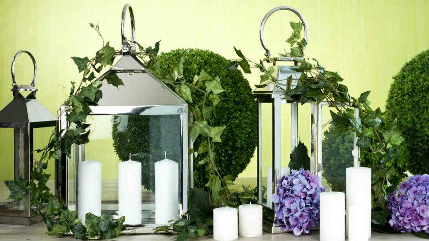 Portacandele Da Giardino : Lanterne portacandele luminosa magia dalani e ora westwing