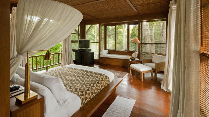 Zanzariere anti insetti in camera da letto westwing - Cucina coloniale ...