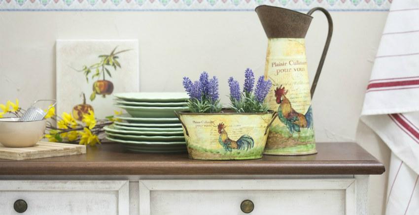 Credenza Vintage Per Cucina : Madie per cucina: eleganza rurale in sala da pranzo dalani e ora