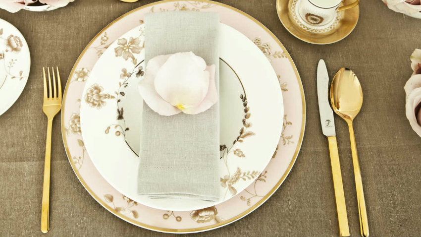 WESTWING | Servizio di piatti Shabby Chic: l\'eleganza è in tavola