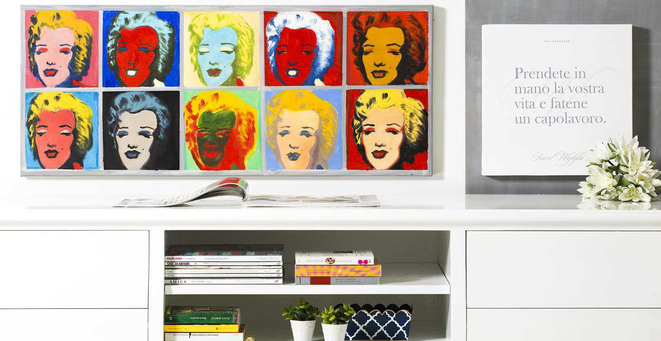 abbastanza DALANI | Quadri Pop Art: colorate icone di stile per la casa BB03