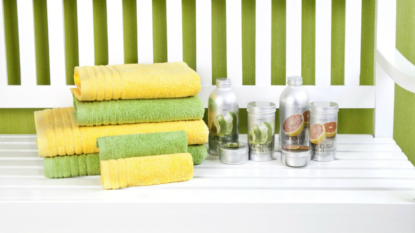 Accessori Bagno Verde Acqua.Bagno Giallo Il Colore Del Sole Nella Tua Casa Westwing Dalani