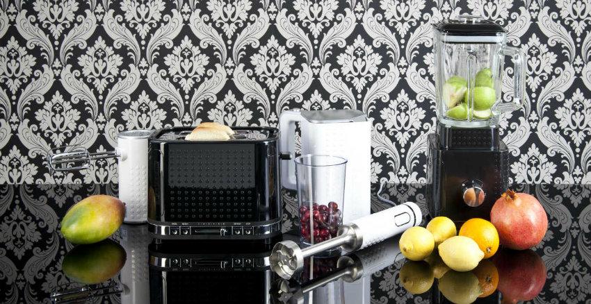 Carta da parati per cucina moderna: instant style - Dalani e ora ...