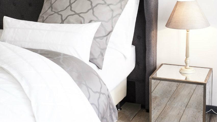 dalani | lenzuola grigie: biancheria da letto sofisticata - Biancheria Camera Da Letto