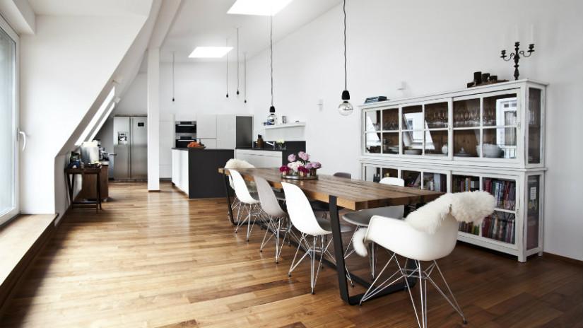 Cucina in mansarda: ottimizzare gli spazi - Dalani e ora ...