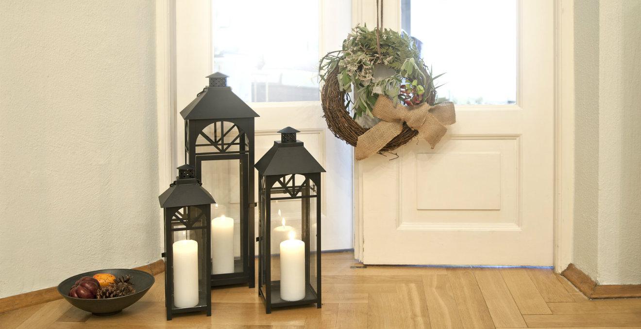 Lanterne natalizie la festa si accende dalani e ora - Lanterne da interno ...
