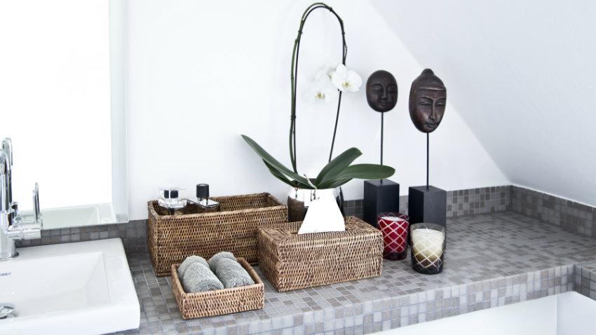 Porta carta igienica in legno bagno di stile dalani e for Accessori bagno dalani