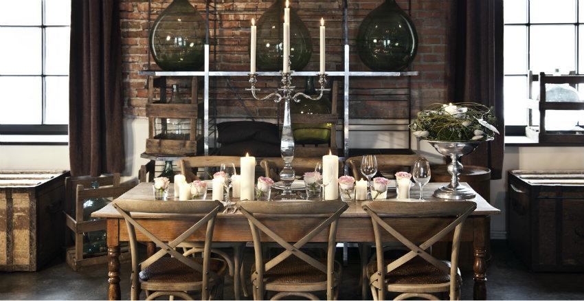 Cucina marrone natura e stile westwing dalani e ora for Arredamento di design naturale