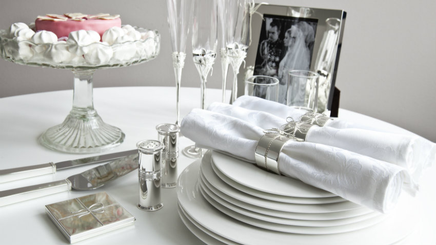 Top DALANI | Regali per 25 anni di matrimonio: idee d'argento QK83