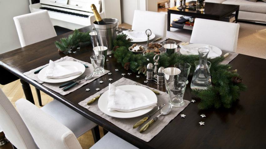 Tovagliette americane natalizie la tavola delle feste - Tavole apparecchiate moderne ...
