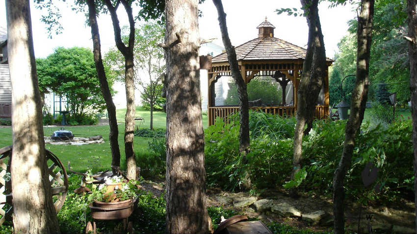 Gazebo con tende: angolo di relax e pace dalani e ora westwing