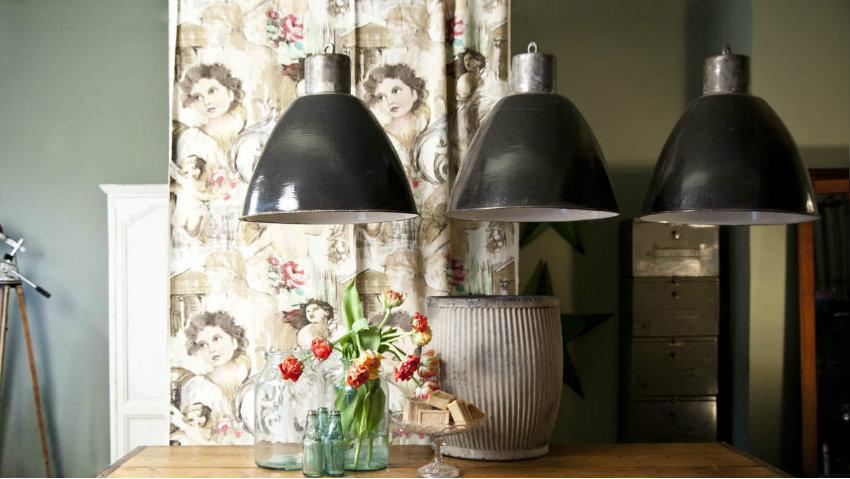 WESTWING | Lampadari da cucina country: dettagli di luce rustici