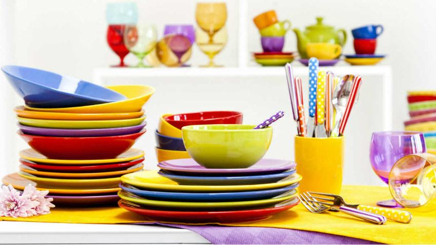Piatti in melamina fai il pieno di allegria dalani e - Ikea piatti cucina ...