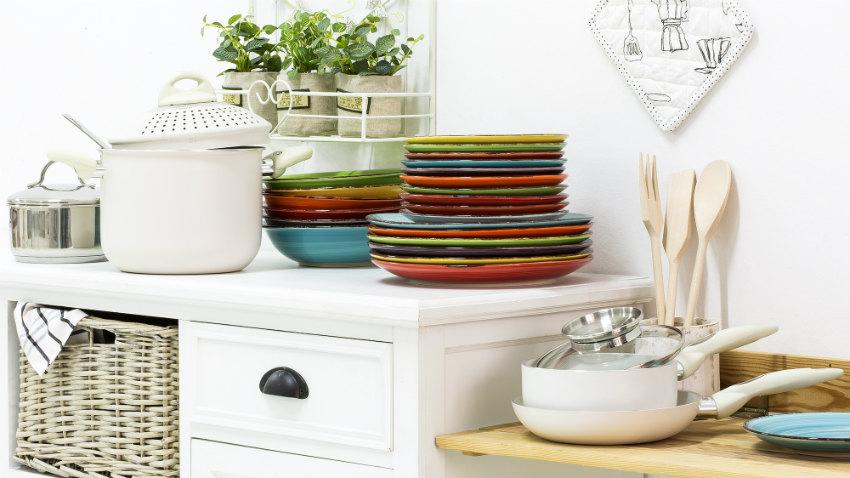 Posate in legno stile in cucina westwing dalani e ora westwing - Cucine provenzali moderne ...