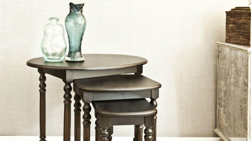 Tavolino in arte povera