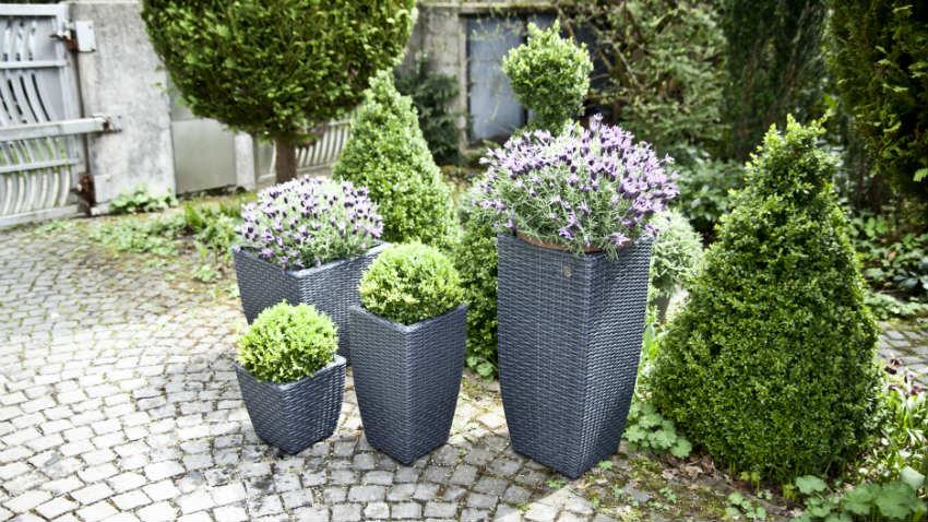Vasi Bianchi Per Fiori Da Esterno.Westwing Vasi Luminosi Design Moderno Per Gli Esterni