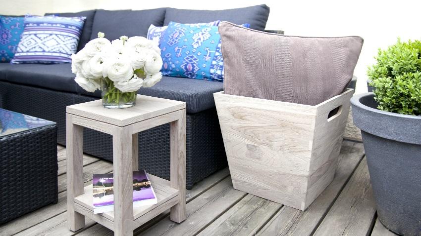 Arredamento per veranda giardino in casa di design for Stili casa arredamento