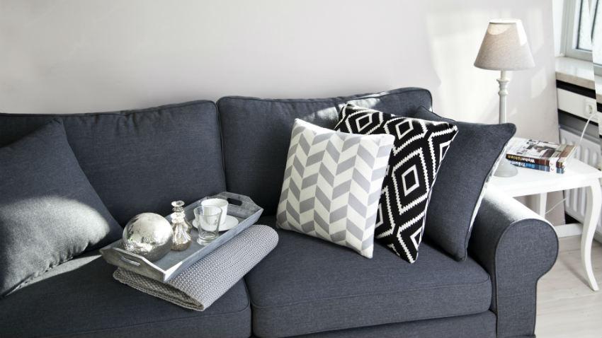Popolare DALANI | Cuscini grigi: fascino sobrio per il tuo divano AC96