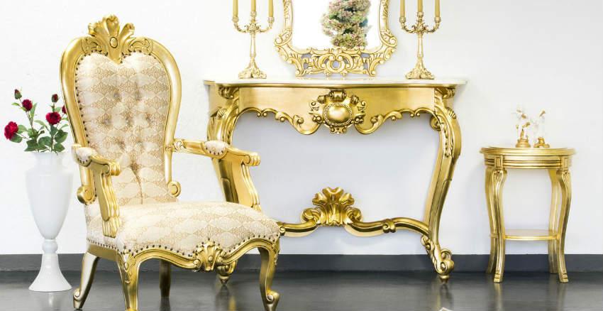 Divani in stile barocco dettagli dorati dalani e ora westwing - Mobili da bagno stile barocco ...