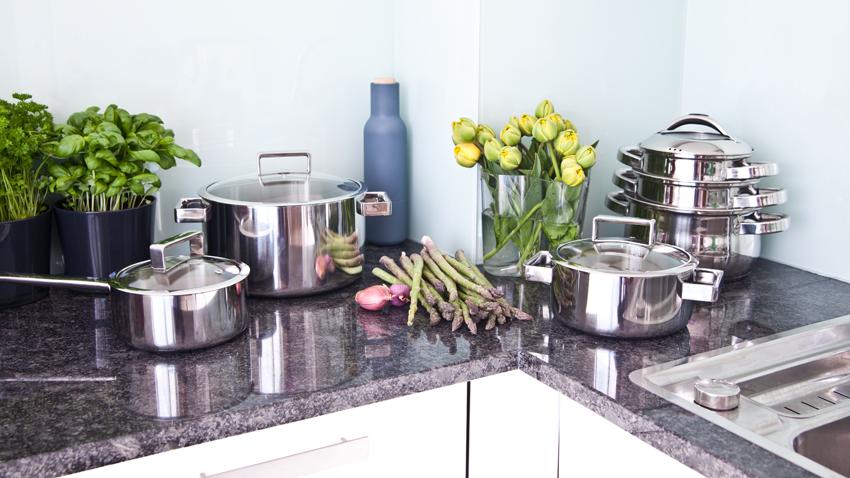 Mobili ad angolo per cucina: funzionalità elegante - Dalani e ora ...