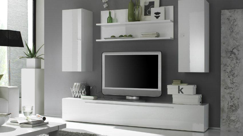 Parete attrezzata bianca: combinazioni eleganti - Dalani e ora Westwing