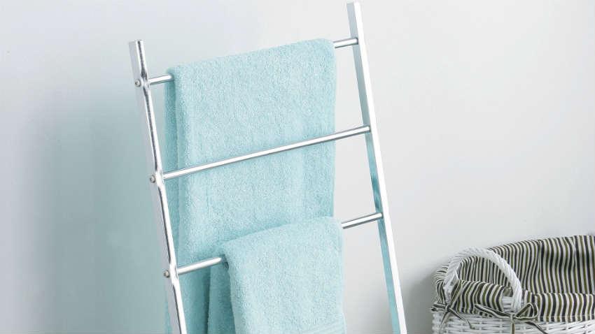 Scala portasciugamani rituali di bellezza e stile - Mobili porta asciugamani bagno ...