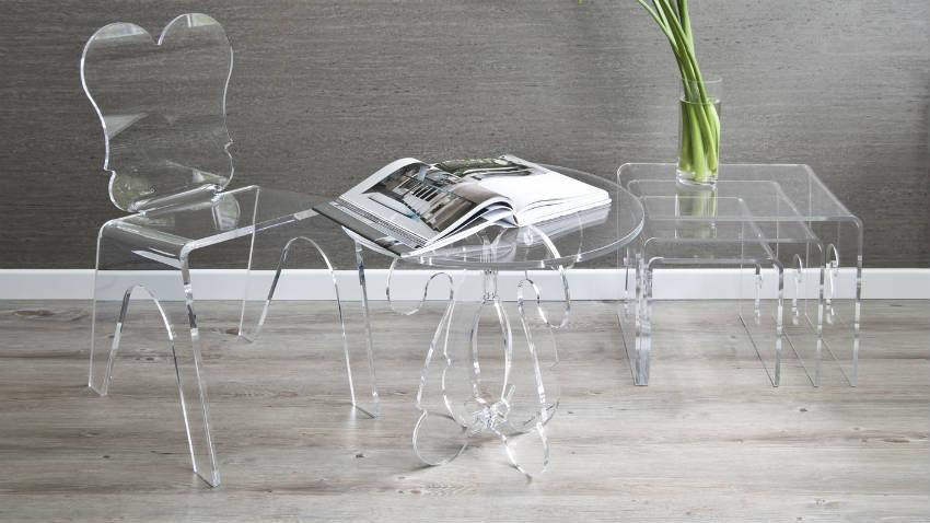 Sedie Di Plastica Trasparenti : Sedie in plastica trasparente note design dalani e ora westwing