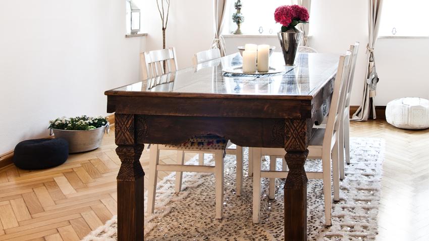Tavoli in legno massello: artigianali e di design - Dalani e ora ...