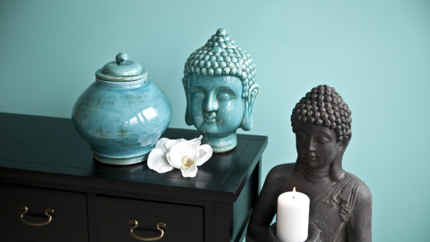 Testa di buddha spiritualismo orientale dalani e ora - Soprammobili etnici ...