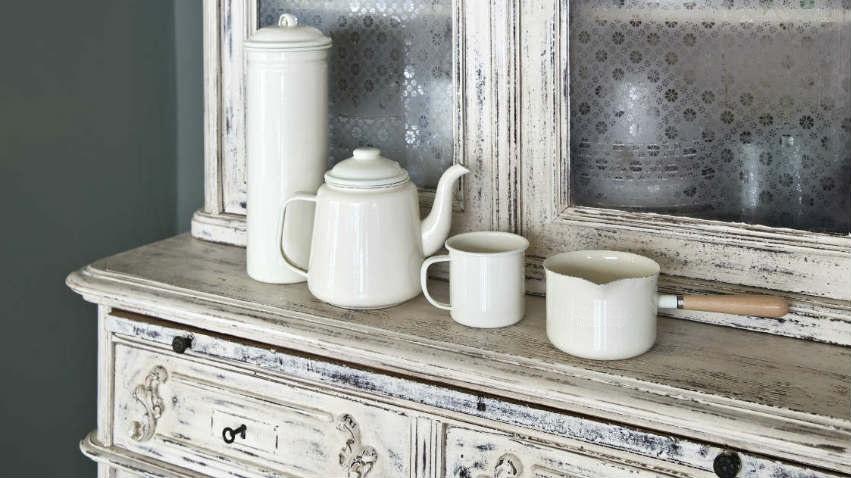 Credenza Con Vetrina Moderna : Madia da cucina moderna stunning ante dama bianco