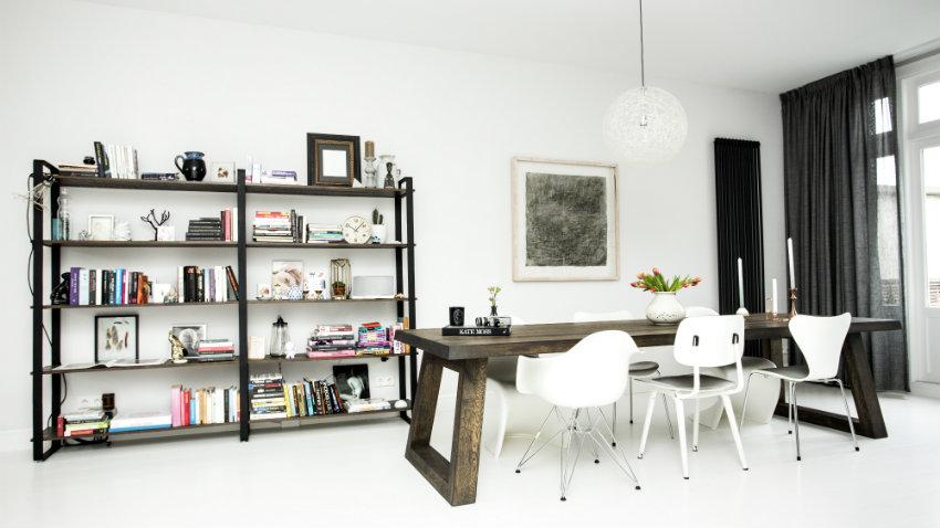 Libreria in alluminio