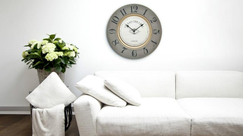 Orologi adesivi da parete: per decorare con stile! - Dalani e ora ...