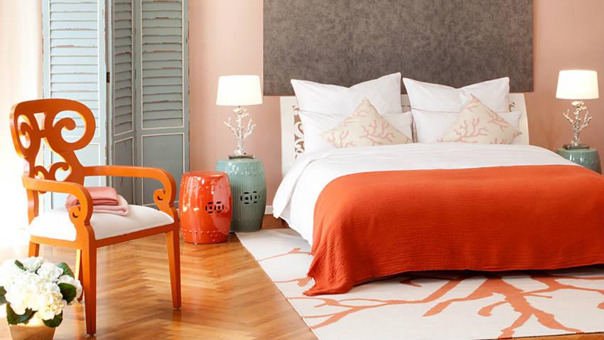 Parete attrezzata per camera da letto: design e colori ...