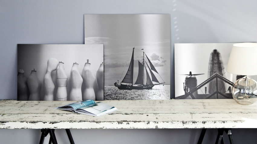 Poster in bianco e nero foto e ricordi di viaggio for Scrivania stile scandinavo