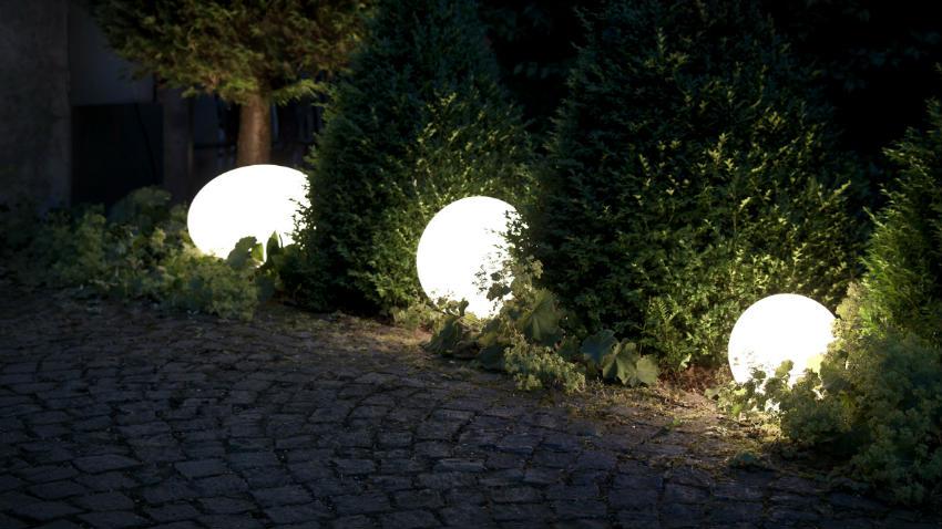 Lampada sfera da giardino: lampada da esterno sfera da giardino ip Ø
