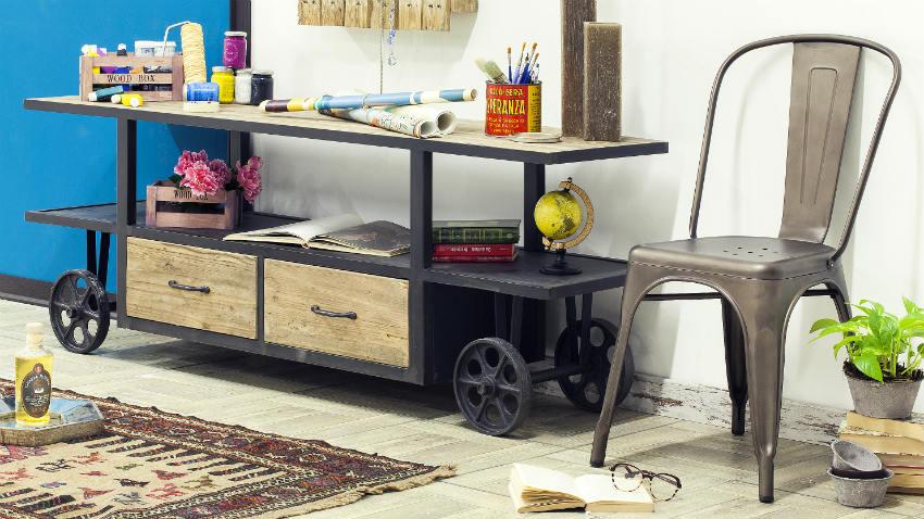Cassettiera industriale dalle fabbriche ai loft dalani for Accessori casa design on line