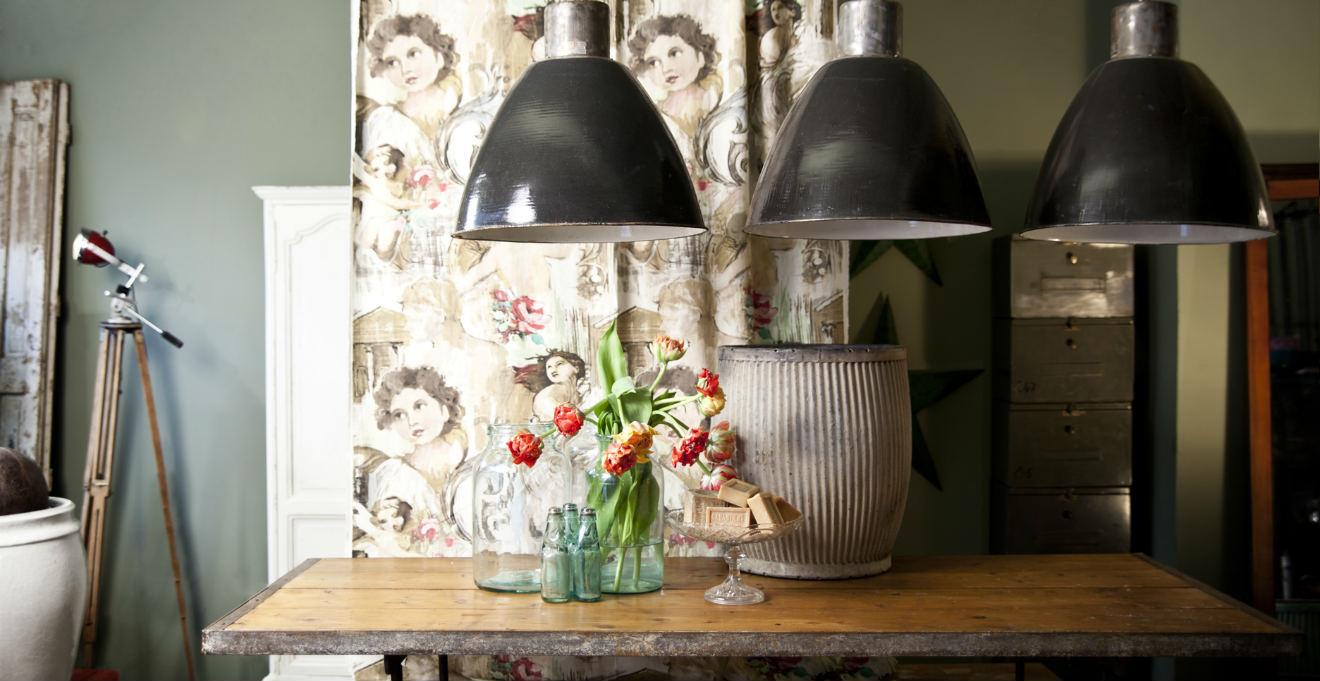 Lampadari industriali: fascino vintage - Dalani e ora Westwing
