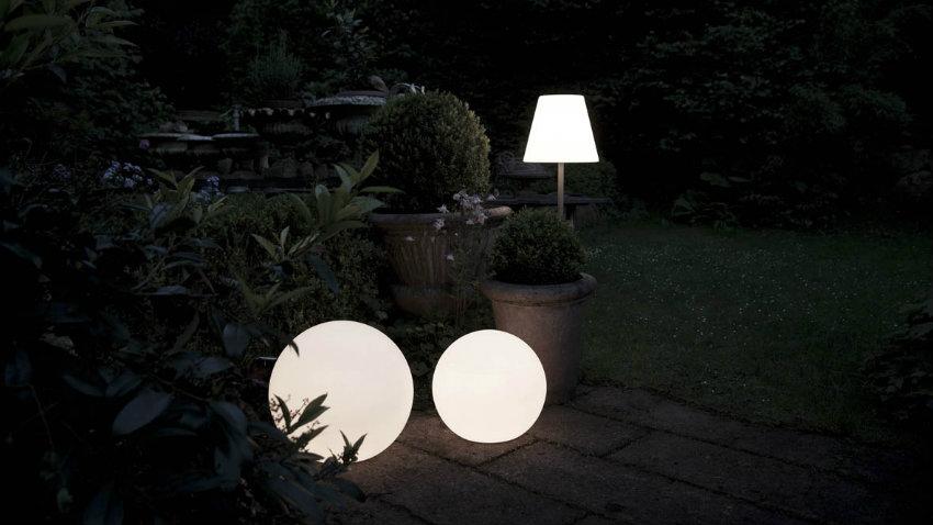 Lampade da terra per esterno
