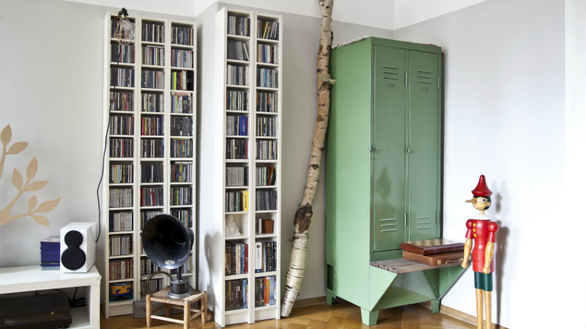 Libreria moderna componibile top lops butterfly librerie