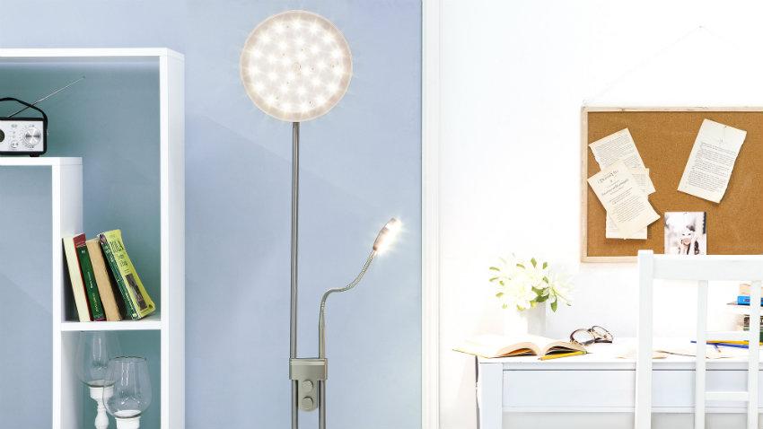 Lampada da parete con braccio pratico design dalani e - Lampade bambini design ...