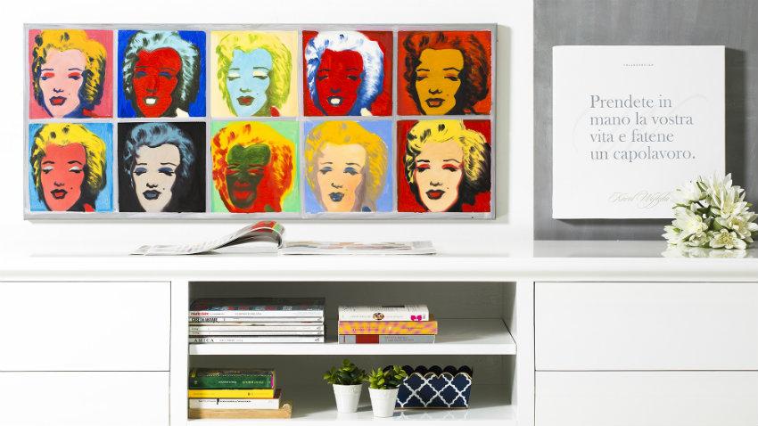 Poster pop art: un\'esplosione di colori e forme - Dalani e ora Westwing